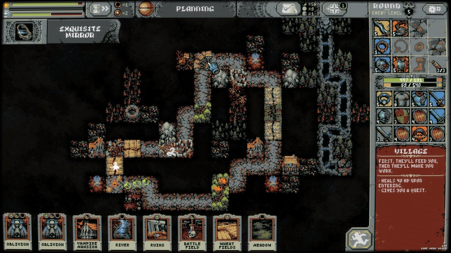 Devolver Digital Gems, Loop Hero