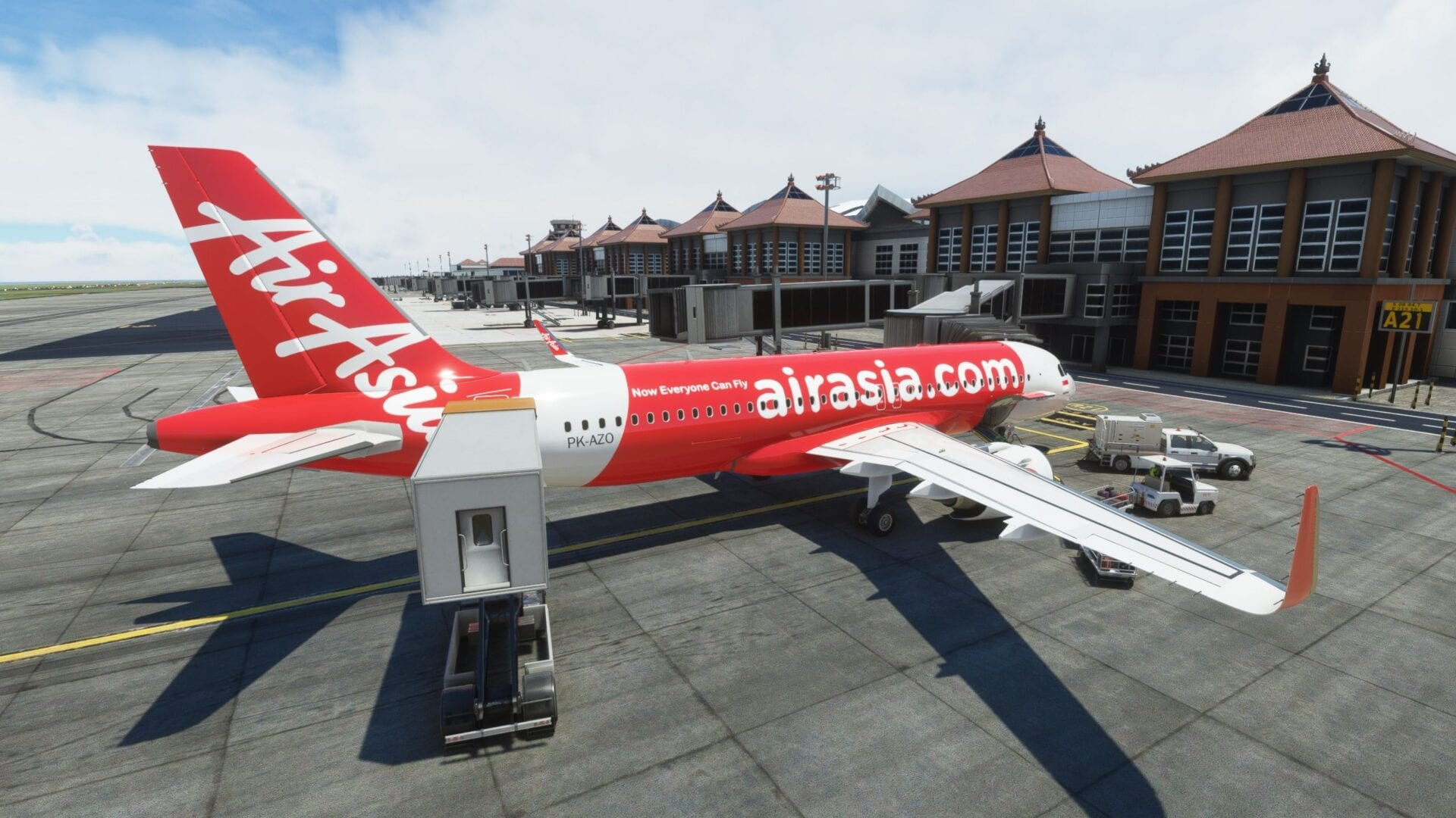 Bali Airport for Microsoft Flight Simulator Critic Review