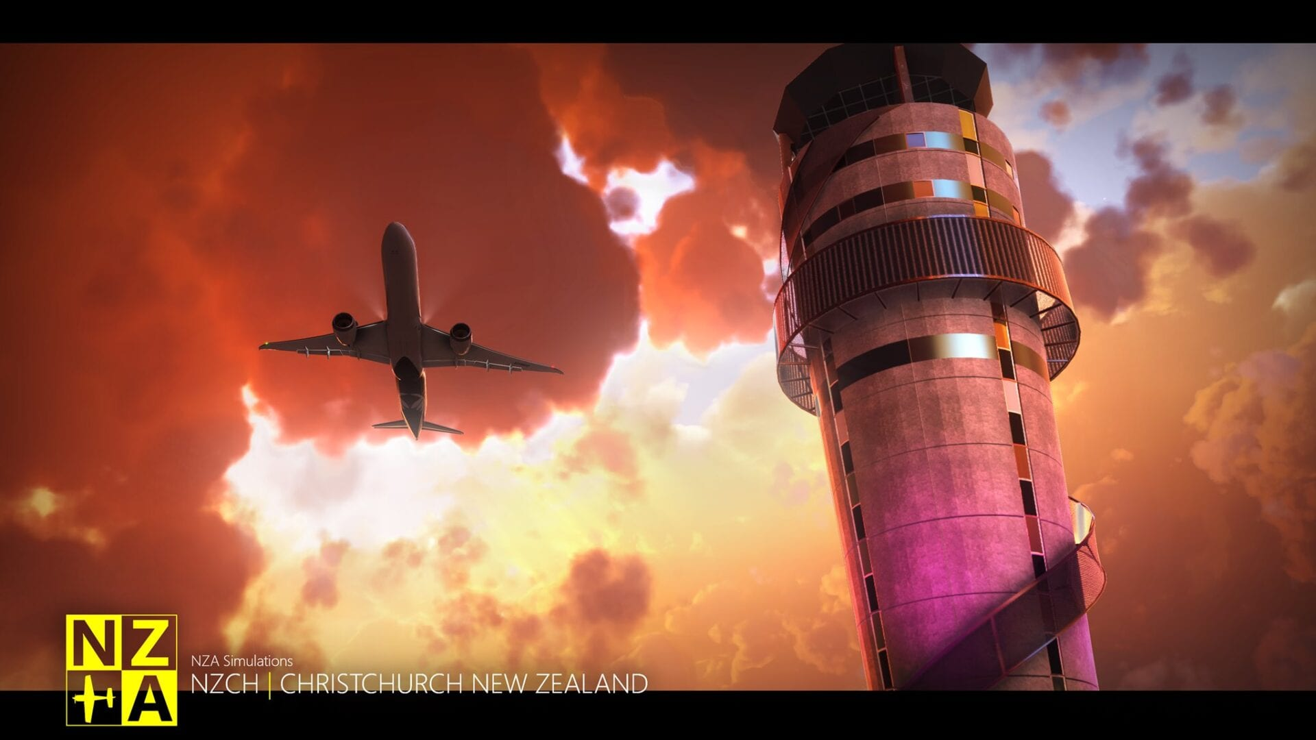 Microsoft Flight Simulator Christchurch