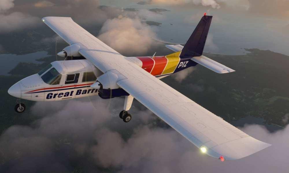 Britten-Norman BN-2 Islander Announced For Microsoft Flight Simulator