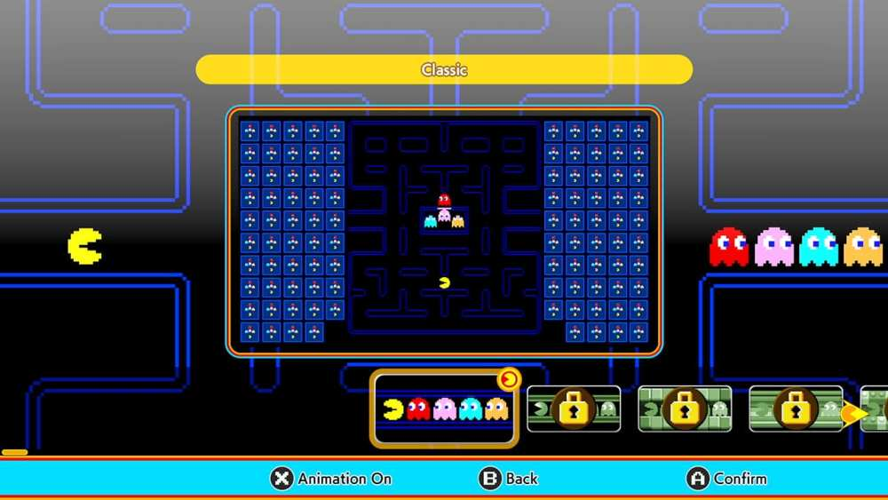 Pac-Man 99 Review - Non-Stop Fun and Intensity - Cosmetic options