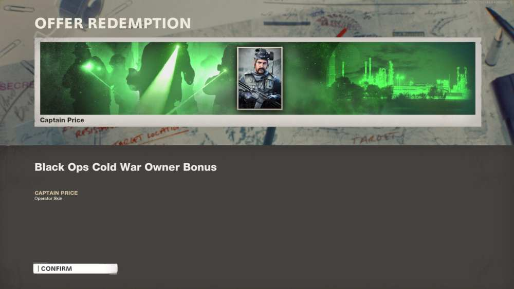 unlock 84 captain price black ops cold war