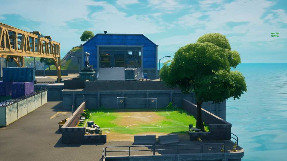 fortnite soccer player locations
