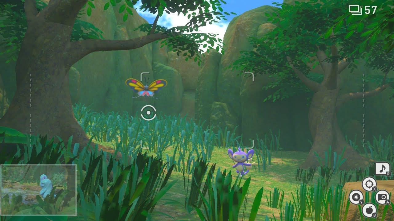 new pokemon snap jungle