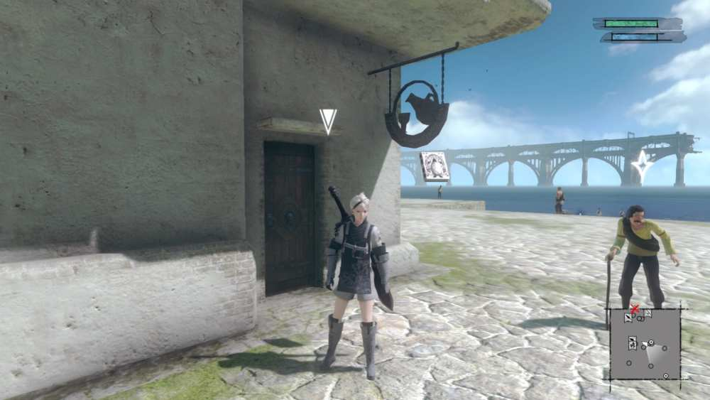 Nier Replicant How to Find Restaurant (Fragile Delivery 2)