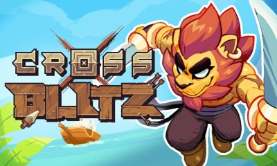 Cross Blitz logo with a lion pirate.