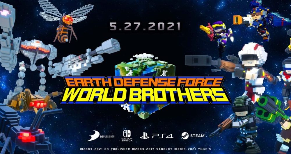 Earth Defense Force: World Brothers Gets Extensive Gameplay Showing Wacky Aliens & Giants Robots