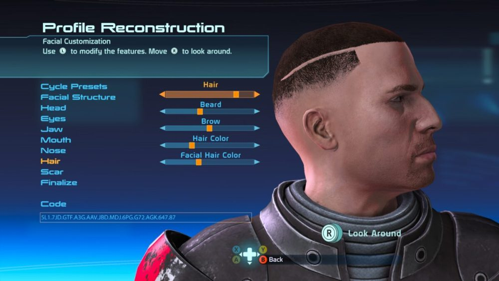 mass effect hairstyles