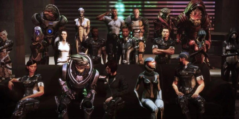 Mass Effect 3 Citadel Party