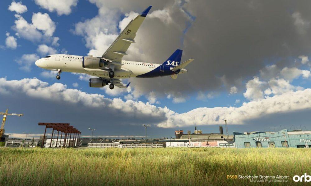 Microsoft Flight Simulator Stockholm Bromma Add-on Shines in New Impressive Screenshots From Orbx