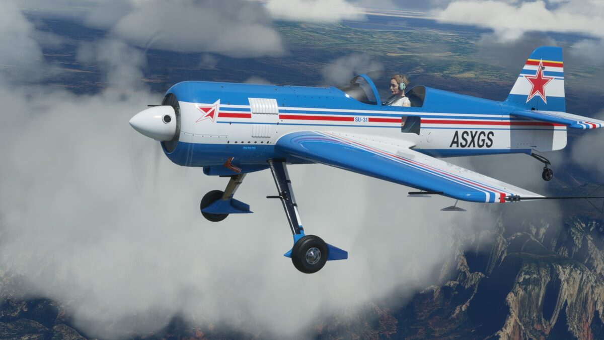 Microsoft Flight Simulator Sukhoi 31