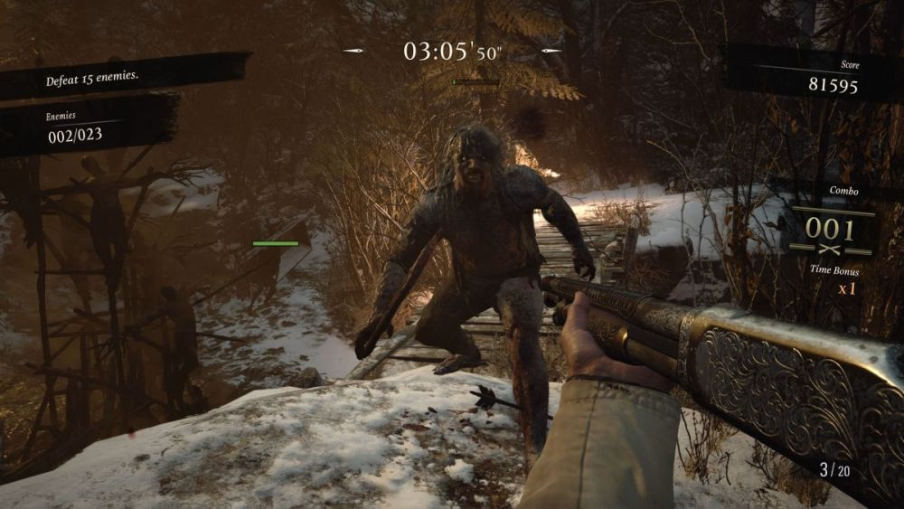 resident evil village mercenaries sss rank