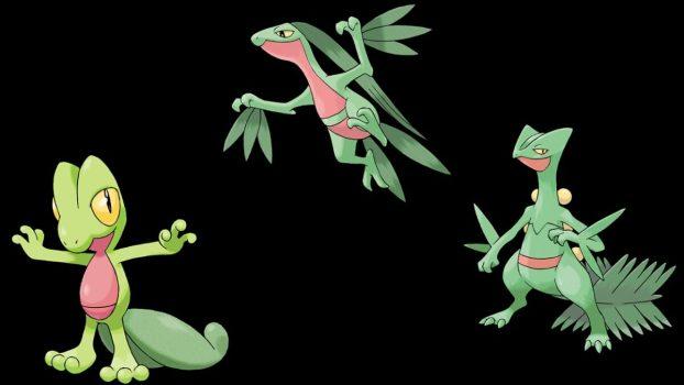 Treecko Evolution Line