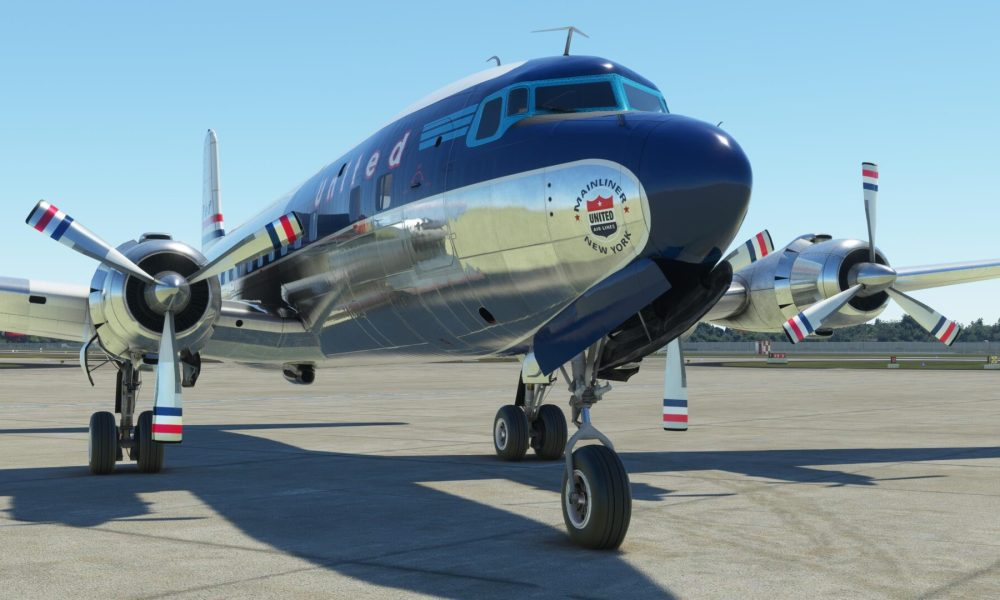 Microsoft Flight Simulator DC-6 by PMDG Gets a Release Date & it's This Week