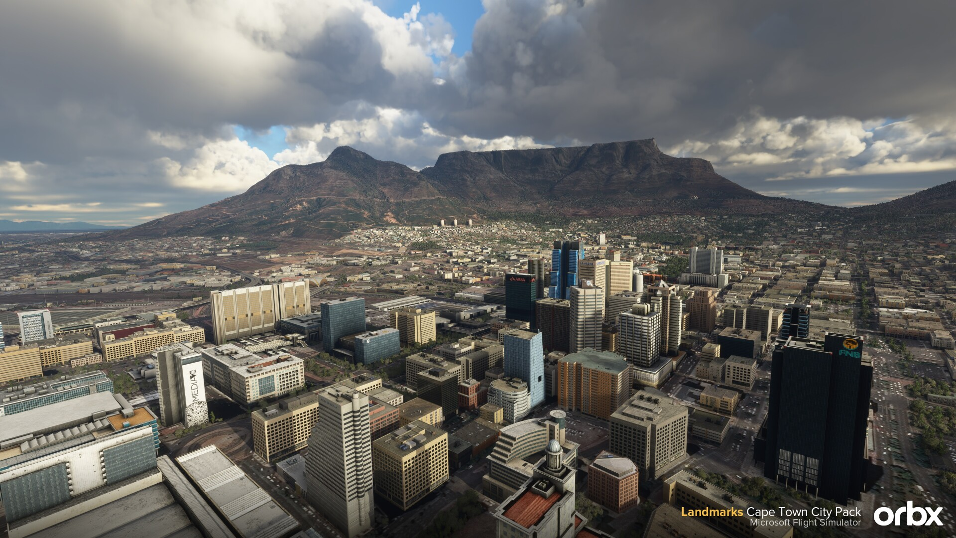 Microsoft Flight Simulator Cape Town