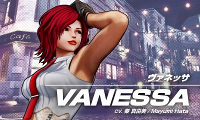 The King of Fighters XV Vanessa (1)