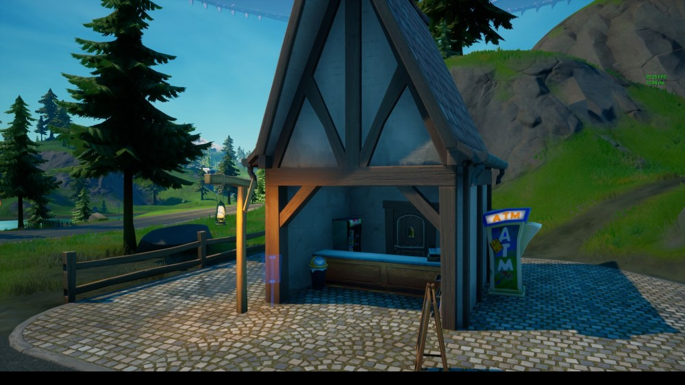 where to place fortnite missing person signs in misty meadows