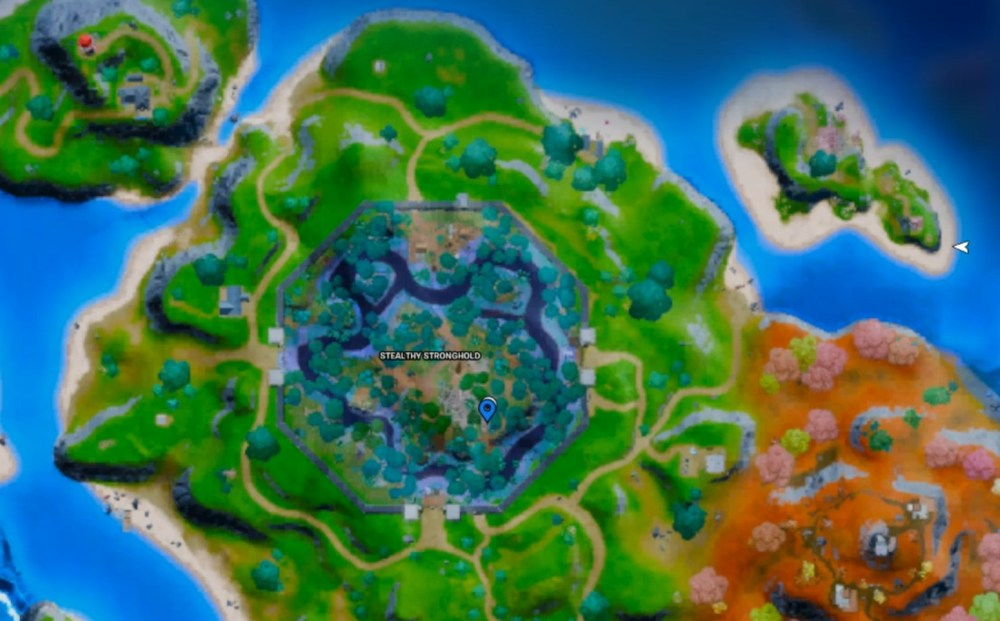 fortnite stealthy stronghold raid artifact