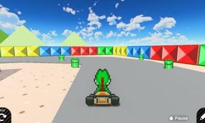 super mario kart game builder garage