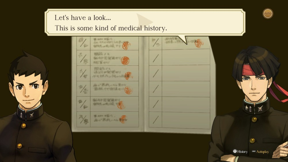 great ace attorney chronicles examine evidence