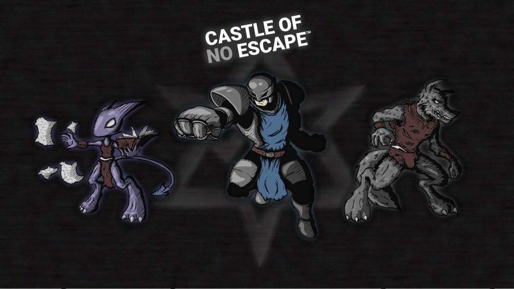 Castle of no Escape - Cover Art