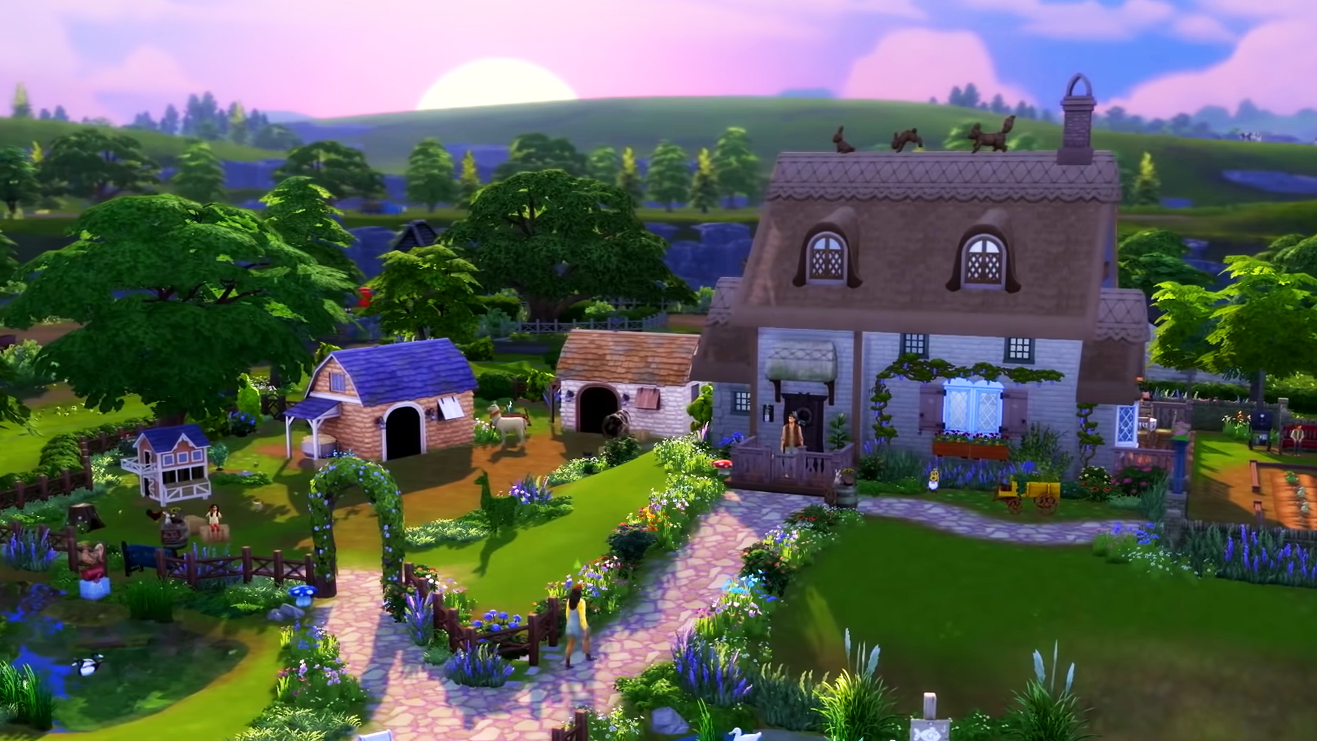 Cottage Living home
