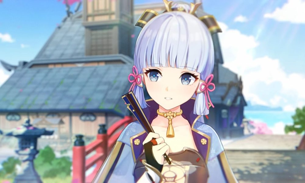 Genshin Impact Gets a New Trailer All About New Character Kamisato Ayaka
