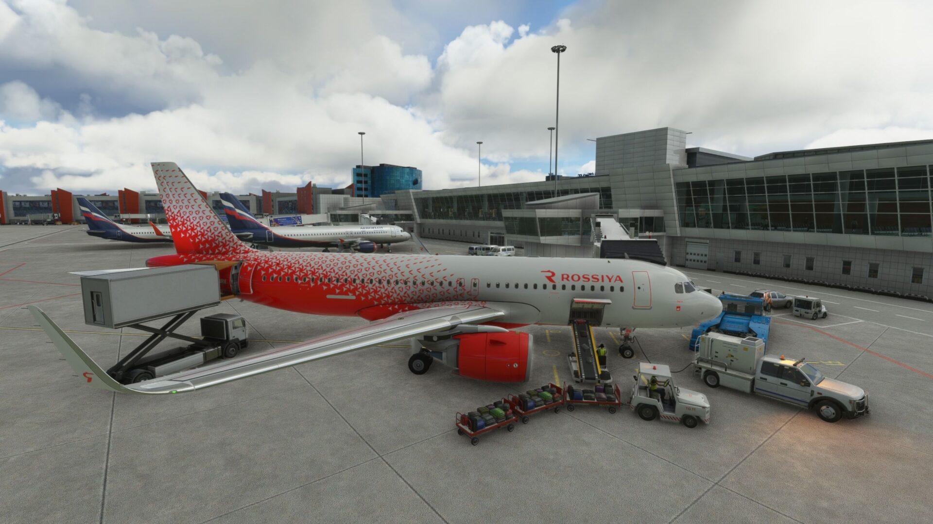 Moscow Sheremetyevo Airport for Microsoft Flight Simulator Critic Review