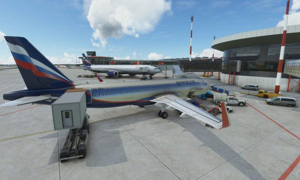 Microsoft Flight Simulator – Moscow Sheremetyevo Airport Review (Drzewiecki Design)