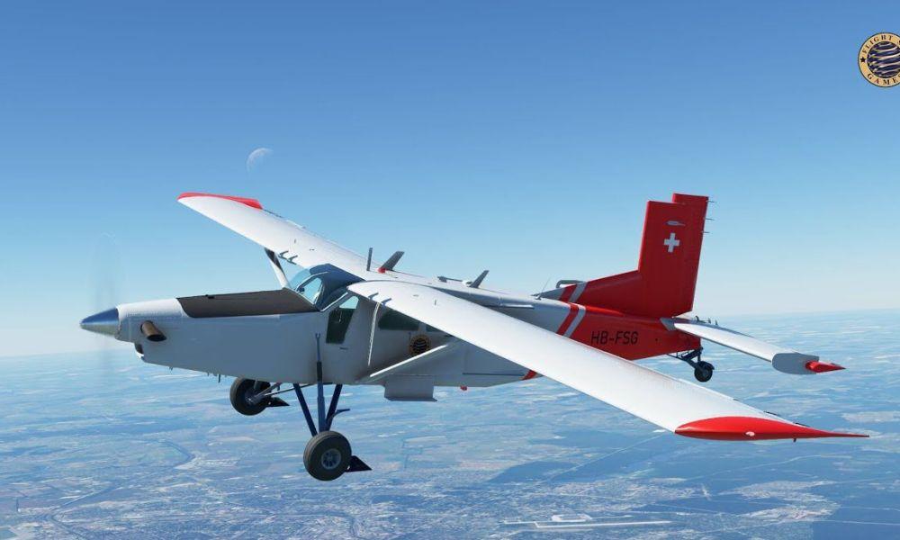 Microsoft Flight Simulator Pilatus Porter Gets New Videos; Heraklion Airport Released