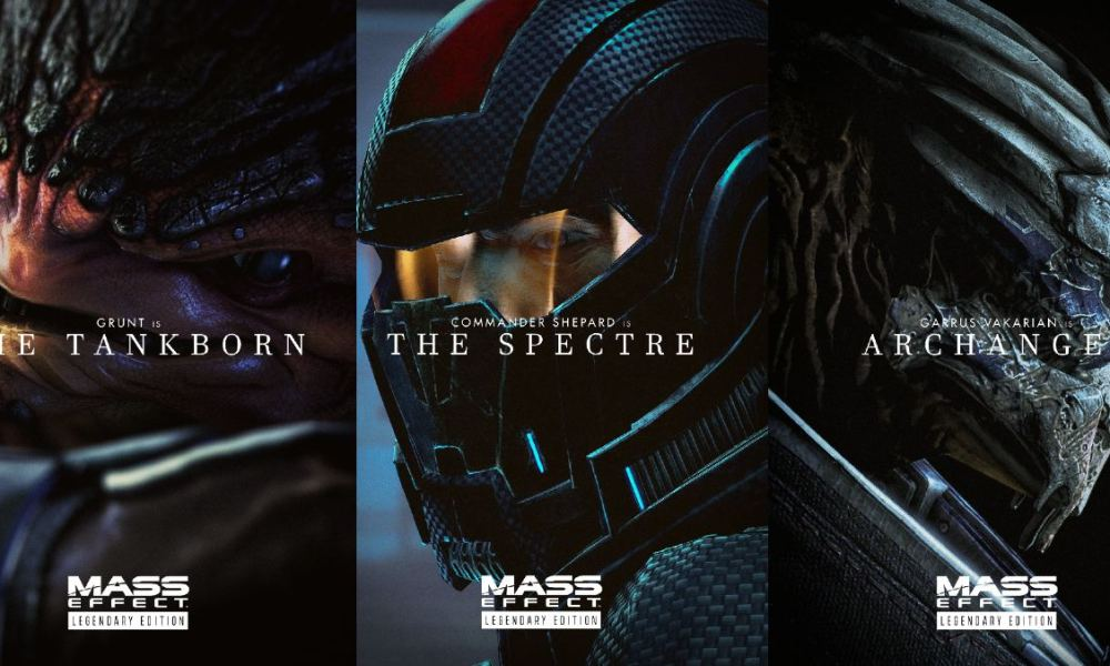 These Dune-Inspired Mass Effect Posters Are the Epitome of Sci-Fi