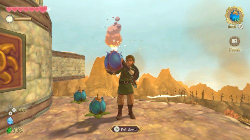 Skyward Sword HD Bombs