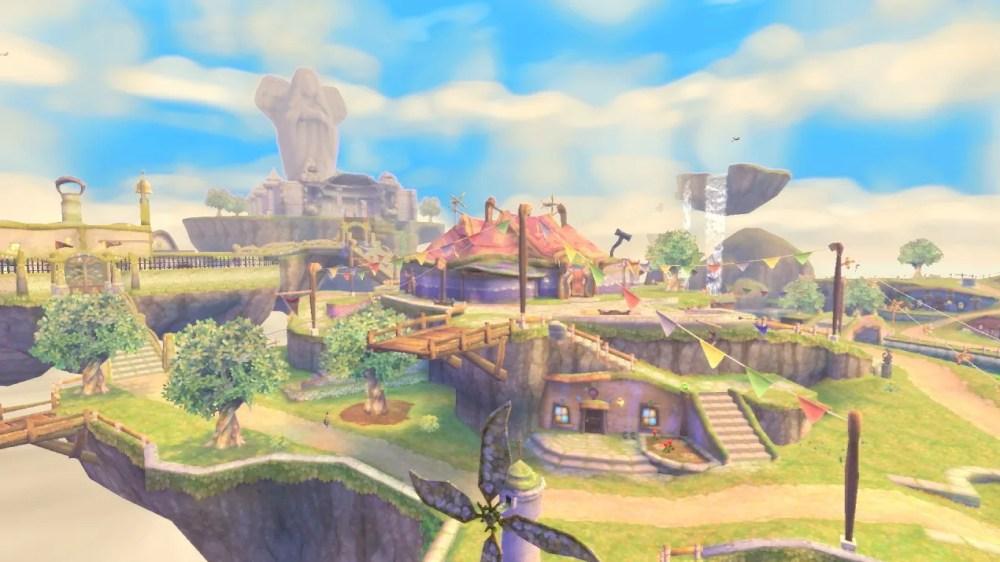 skyloft skyward sword hd