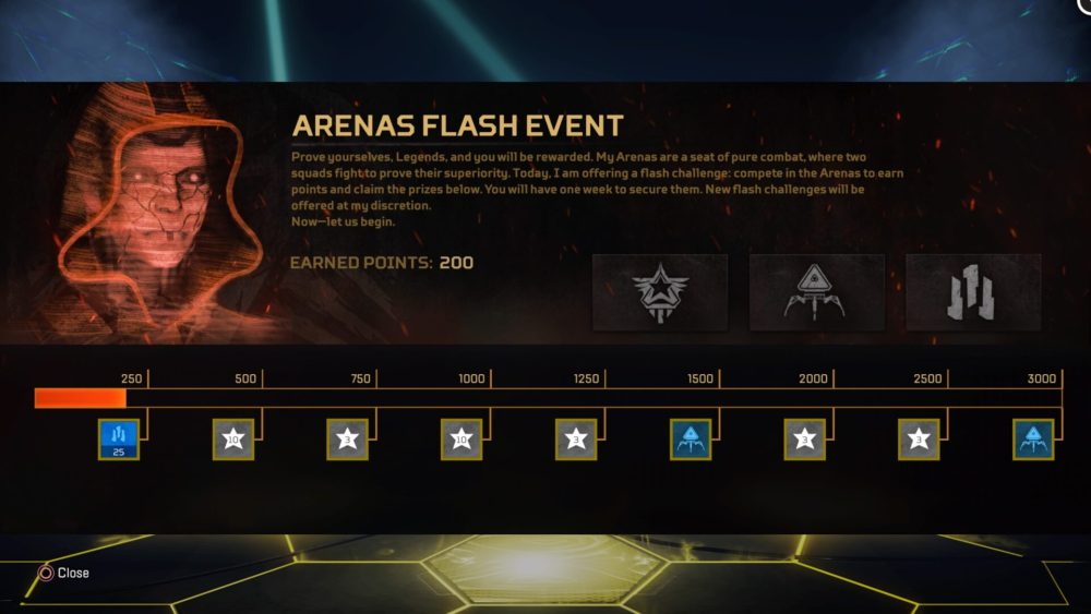 Flash Event Prize Track