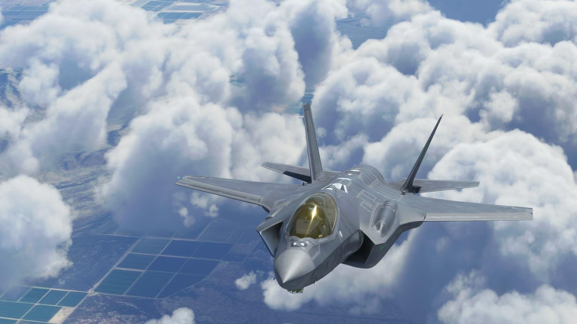 Microsoft Flight Simulator F-35