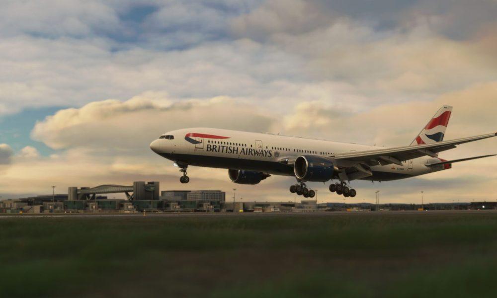 Microsoft Flight Simulator London Gatwick & Lugano Airports Get New Screenshots; New York City Scenery Teased