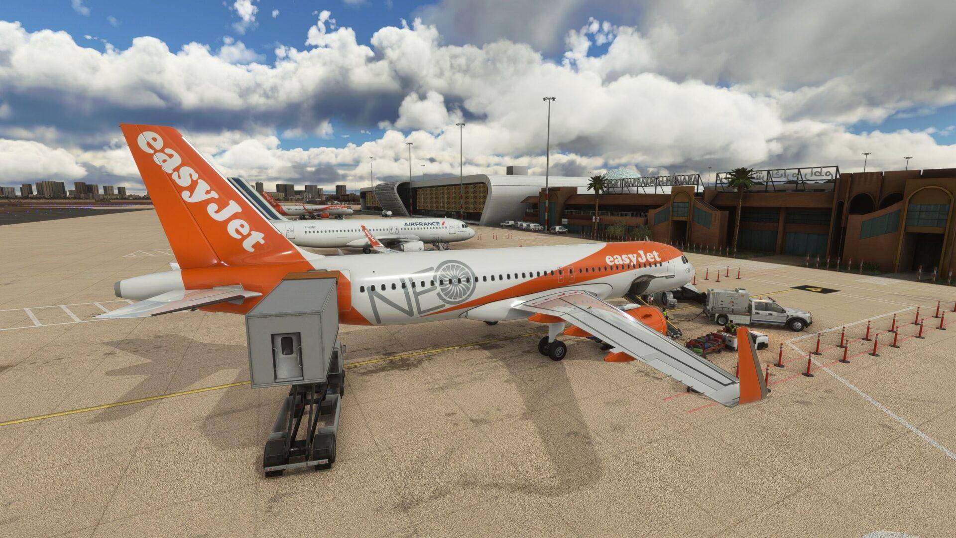 Marrakech Menara Airport for Microsoft Flight Simulator Critic Review
