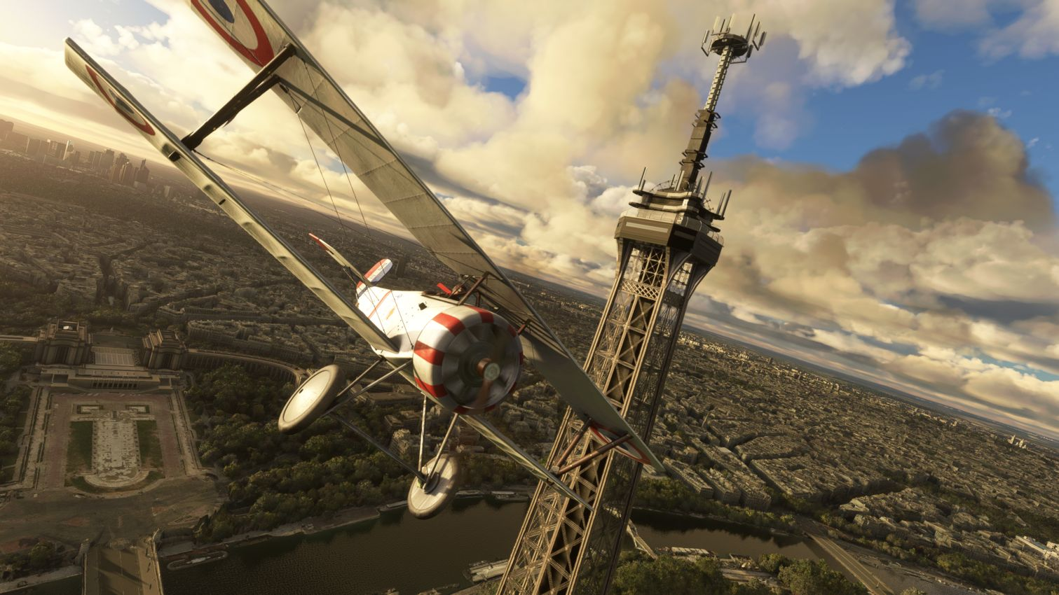 Microsoft Flight Simulator Nieuport