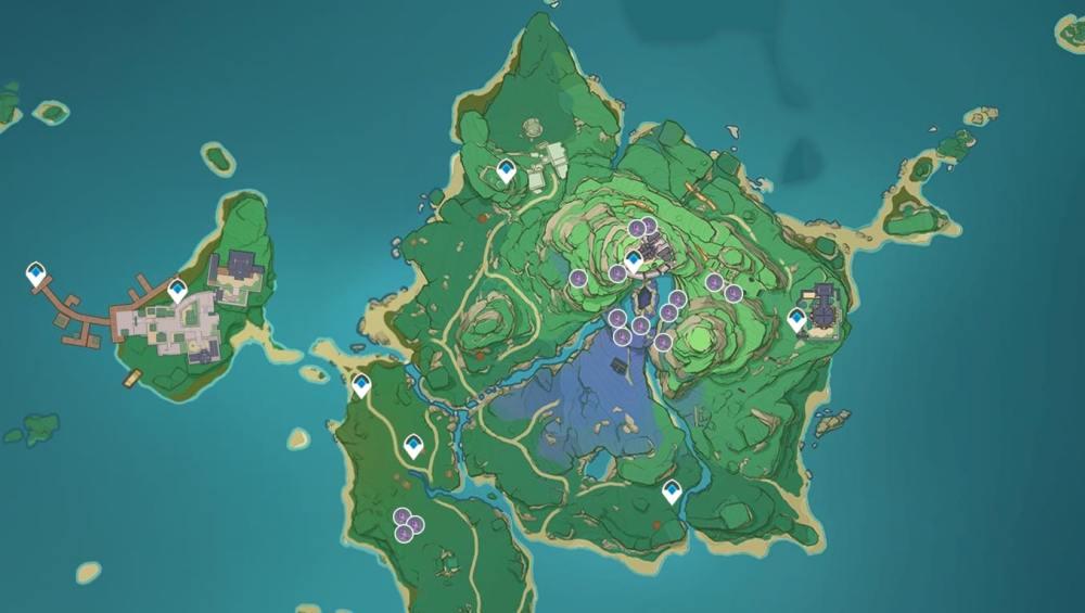 Naku Weed Locations