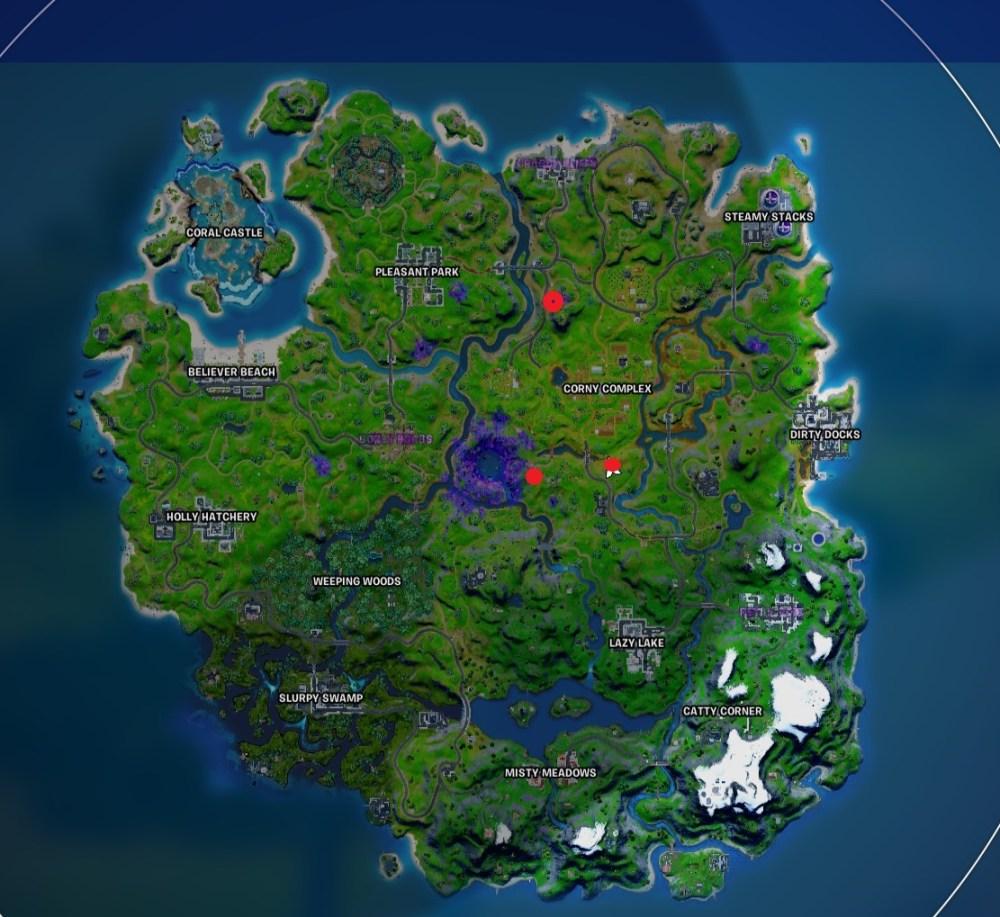 fortnite alien device locations