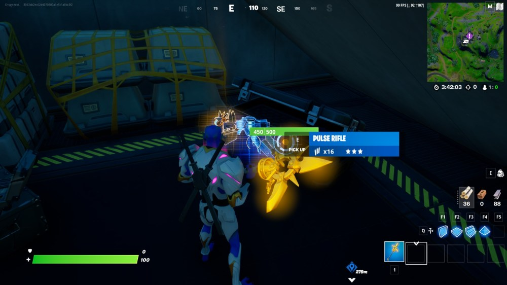 how to get io weapon in fortnite