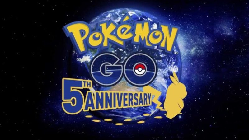 pokemon go 5th anniversary