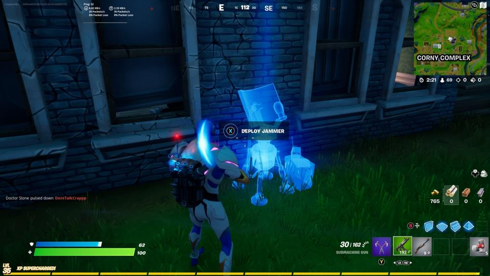 where to place jammer in fortnite