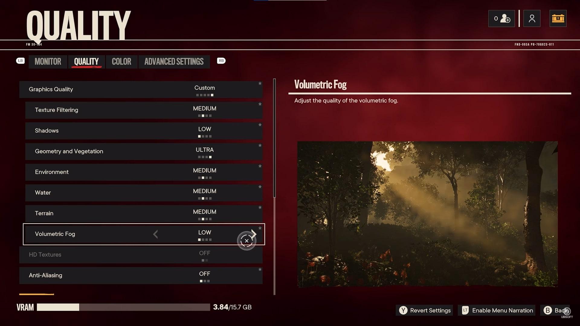 Far Cry 6 PC Graphics