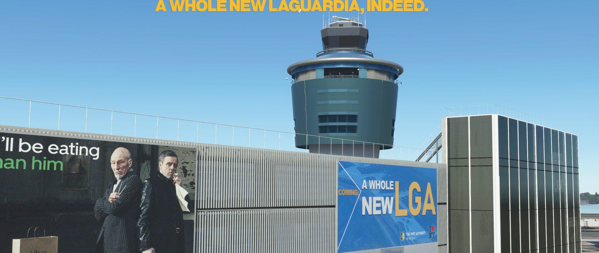 Microsoft Flight Simulator Laguardia