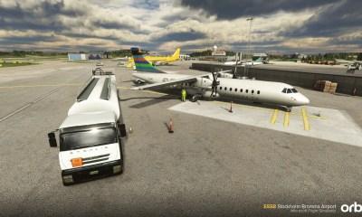Microsoft Flight Simulator Stockholm Bromma
