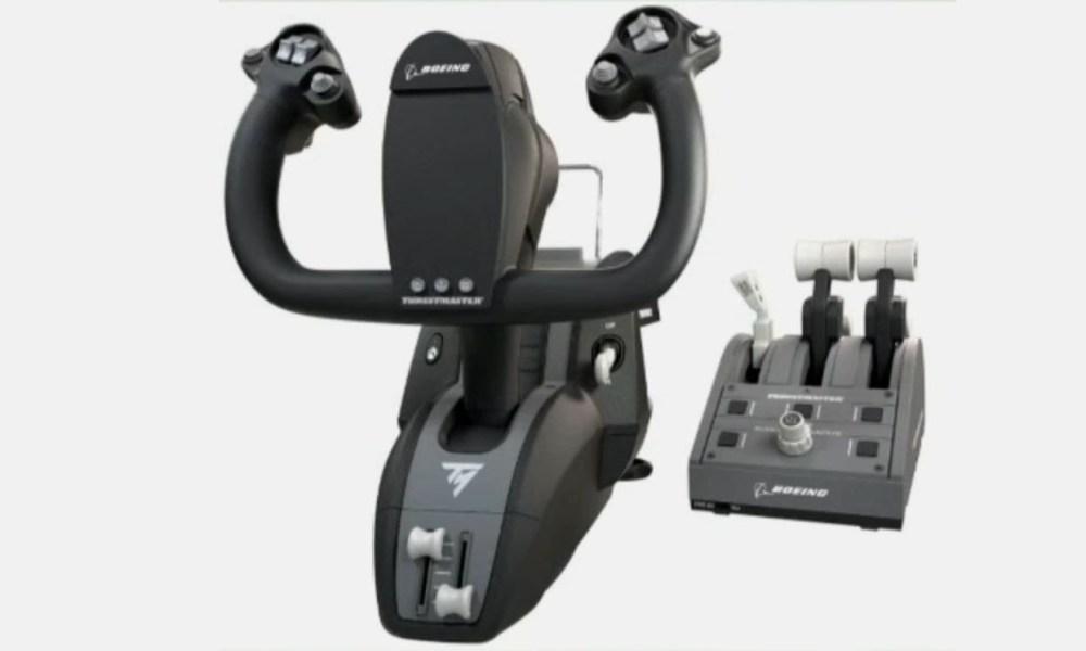 Thrustmaster Officially Reveals TCA Yoke Boeing Edition & Quadrant for Flight Simulators for PC & Xbox - Twinfinite