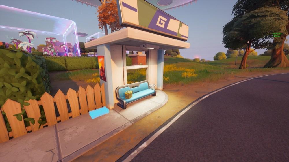 fortnite secret documents bus stop