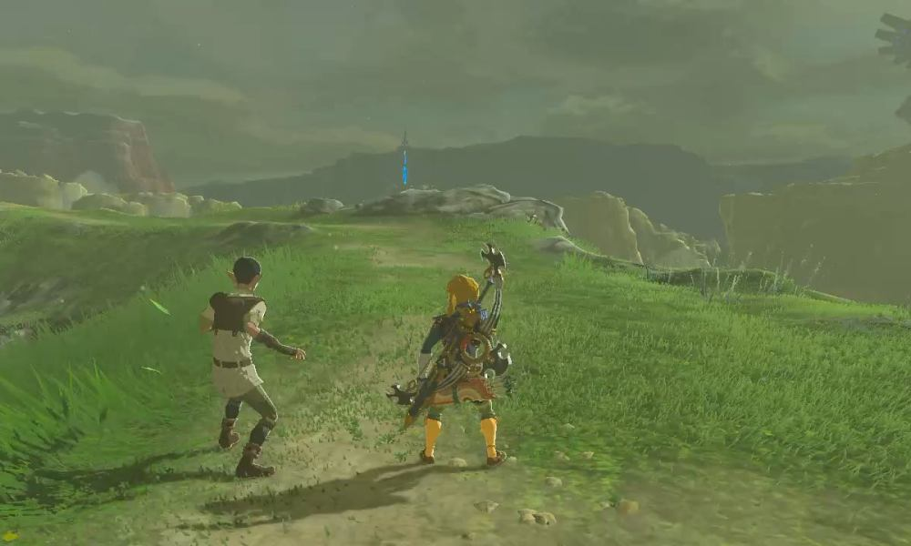 Breath of the Wild Player Wins Mount Rhoam Race in Seconds