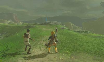 Mount Rhoam, Breath of the Wild, Zelda